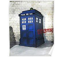 Dalek Gettin' Up Poster