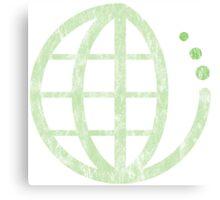ecoecho : green earth Canvas Print