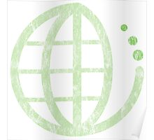 ecoecho : green earth Poster