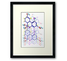 """ENHANCE and SUBMIT"" Framed Print"