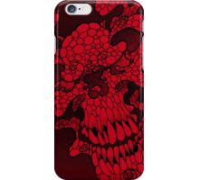 Red Skull iPhone Case/Skin