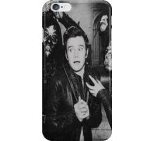 Yer a Wizard, Chris -- B&W Sketchy iPhone Case/Skin