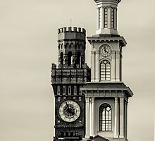Tower and a steeple by jandgcc