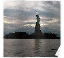 NYC Lady Liberty  Poster