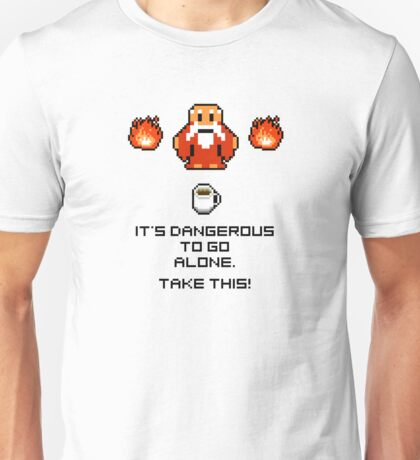 Take this coffee mug Unisex T-Shirt