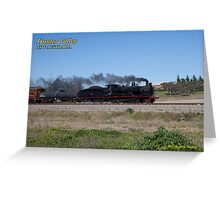 Steam Loco 3237 - Singleton NSW Greeting Card