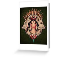 Spirit Princess - PRINT Greeting Card