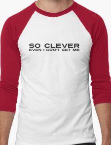 So Clever Men's Baseball ¾ T-Shirt