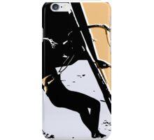 winter windsurfer iPhone Case/Skin