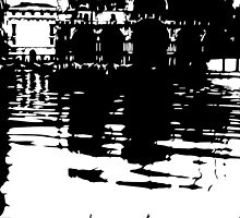 venice floods by gingerbiscuit
