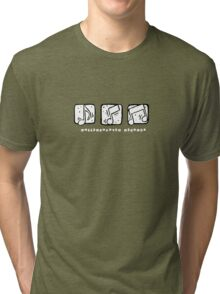Rollercoaster Notes Tri-blend T-Shirt