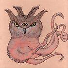 Owltopus by Alephredo Muñoz