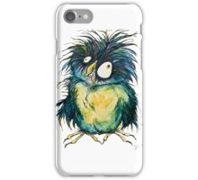 earl the zombie owl iPhone Case/Skin