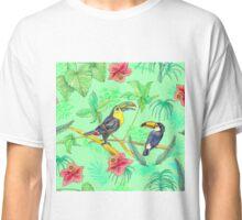 Watercolour Toucans Classic T-Shirt