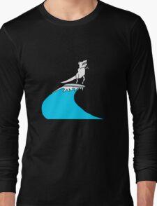 T-Rex Surfing Long Sleeve T-Shirt
