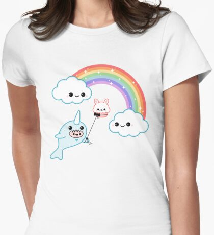 Cute Flying Narwhal T-Shirt