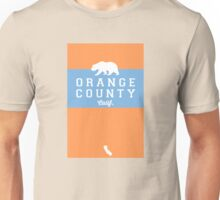Orange County - California. Unisex T-Shirt