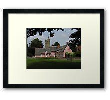 Idyllic Suffolk Framed Print