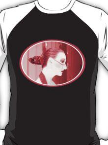 The Red Stripe - Self Portrait T-Shirt
