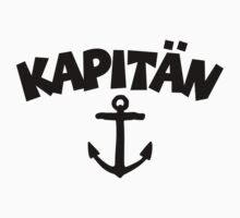 Kapitän anchor by theshirtshops