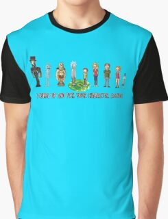 Pick your character, a**hole Graphic T-Shirt