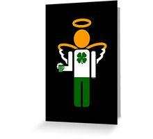 irish angel Greeting Card