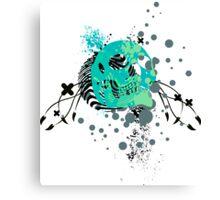 skulls : hi-fi Canvas Print