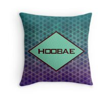 HOOBAE - BLUE Throw Pillow