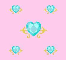 My little Pony - Princess Cadence Cutie Mark V3 by ariados4711