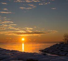 -15 C° Sunrise by Georgia Mizuleva