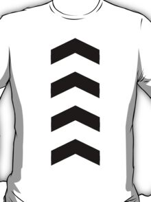 These Chevrons Point in One Direction T-Shirt