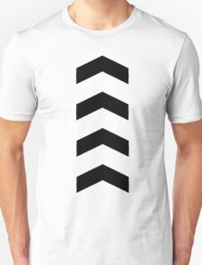 These Chevrons Point in One Direction Unisex T-Shirt