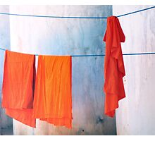 Monk robes  Photographic Print