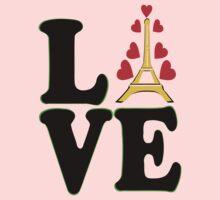 •°♥§Love Paris-Eiffel Tower Fabulous Clothing & Stickers§♥°• Kids Tee