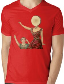 Neutral milk hotel Mens V-Neck T-Shirt
