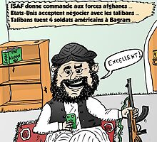 Joyeux Options Taliban Caricature by Binary-Options