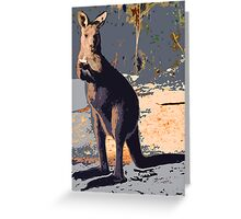 ROLLIE ROO Greeting Card