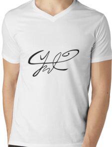 Chanyeol Signature Mens V-Neck T-Shirt