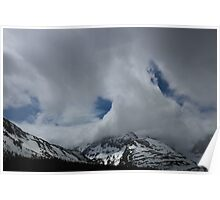 Cloud, Snow Dome, Jasper National Park, Canada, 2013 Poster