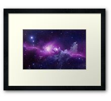 Galaxy Nebula Framed Print