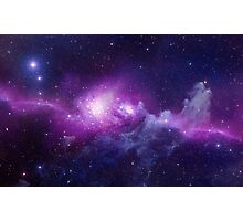 Galaxy Nebula Photographic Print