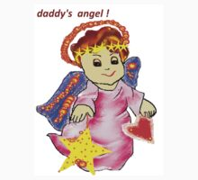Daddy's Angel  Kids Clothes