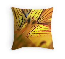 Fleur de Nasturtium Throw Pillow