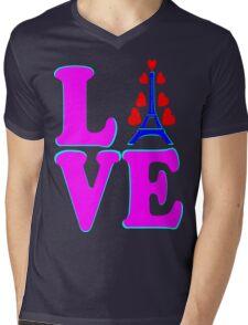 •°♥§Love Paris-Eiffel Tower Fabulous Clothing & Stickers§♥°• Mens V-Neck T-Shirt