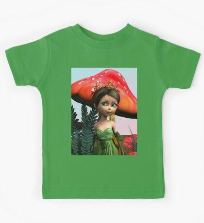 Fairy in Woodland Kids Tee