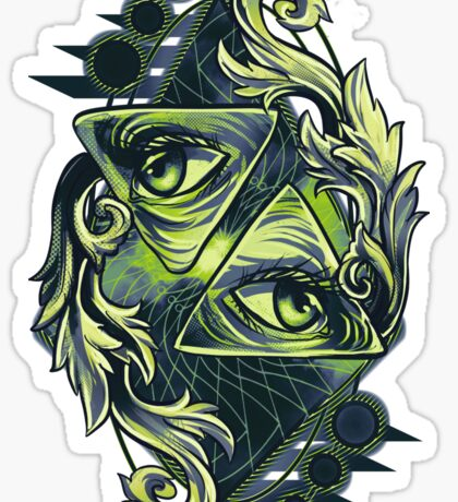Two Eyes Sticker