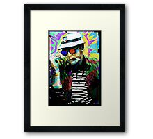 Hunter.S. Thompson.  Framed Print