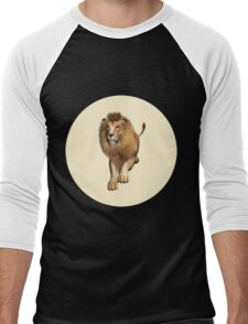 Jumping Lion Men's Baseball ¾ T-Shirt
