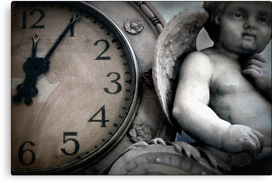 Dark Angel of Time by paintingsheep