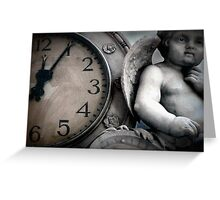 Dark Angel of Time Greeting Card